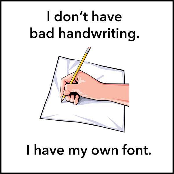 bad handwriting in aspergers