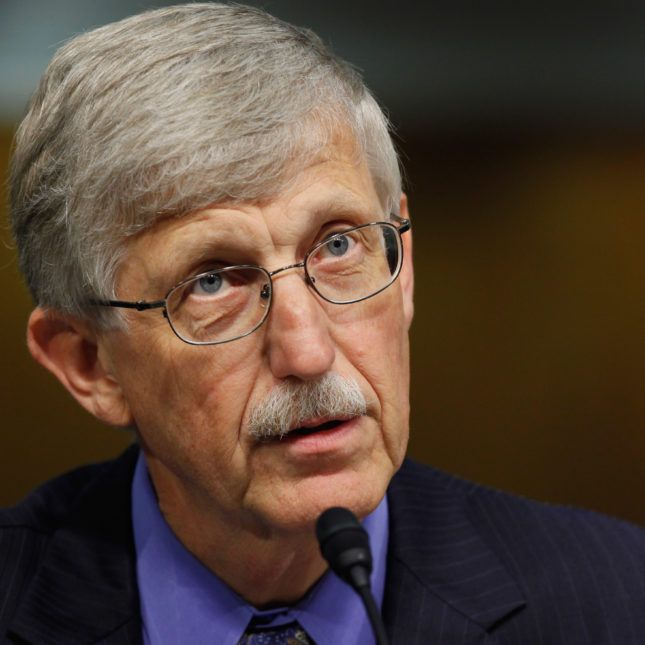 NIH Director Francis Collins says he would remain in post under Trump