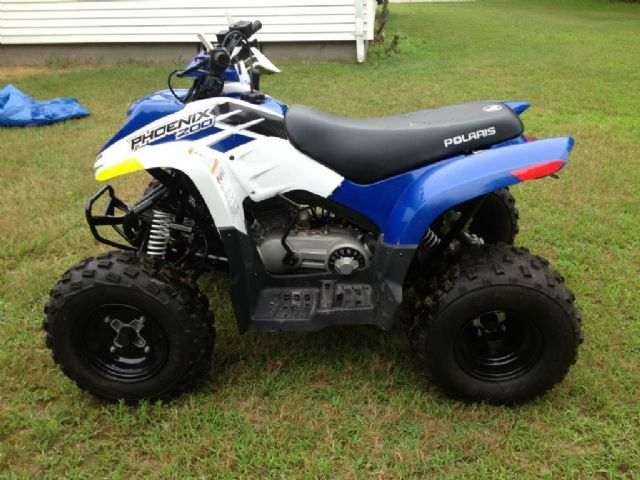 2012 polaris phoenix 200 4 wheeler blue 100 miles for sale in warwick ri atv pinterest. Black Bedroom Furniture Sets. Home Design Ideas