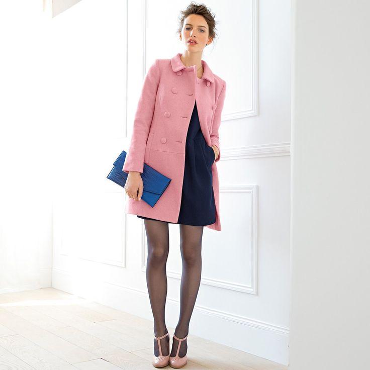 Sobretudo em tweed Mademoiselle R | La Redoute