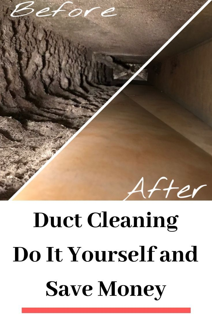 Duct Cleaning Do It Yourself And Save Money Duct Cleaning