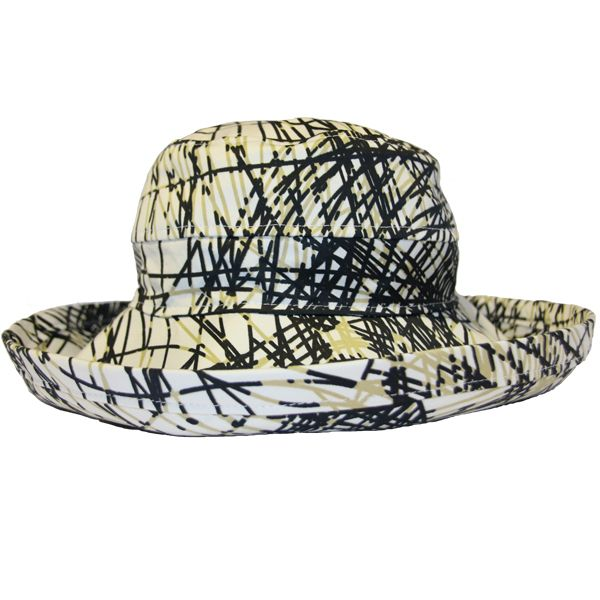 The Noosa Hat - Scribble Cotton | Topshow