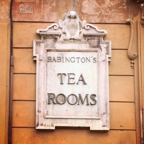 Babington's Tea Rooms, Rome, Italy | Cool Chic Style Fashion
