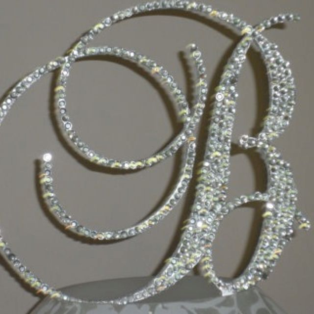 wedding cake toppers with bling we this bling wedding cake topper wedding cake 26627
