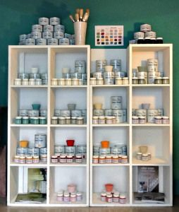 ANNIE SLOAN CHALK PAINT COLOURS - NOW IN STOCK AT THE PLOUGH  SHED - July Courses