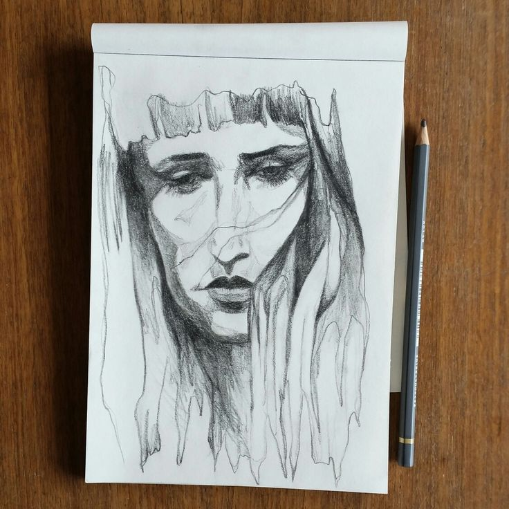 I drew Selina Gin, singer in the Danish band Nelson Can.