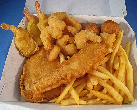 Long john silvers chicken tenders shrimp and fries food for Long john silvers fish