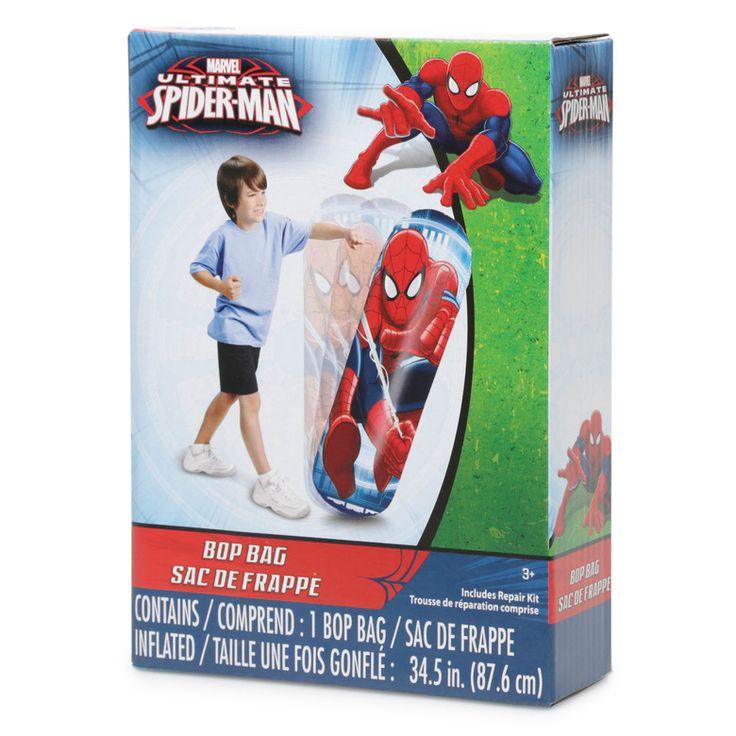 "Disney Marvel Spider-Man 34.5"" Bop Bag - Hollar | So. Much. Good. Stuff"