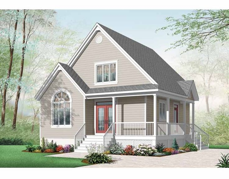 Eplans country house plan compact plan fits intwo huge for 2 bedroom country house plans