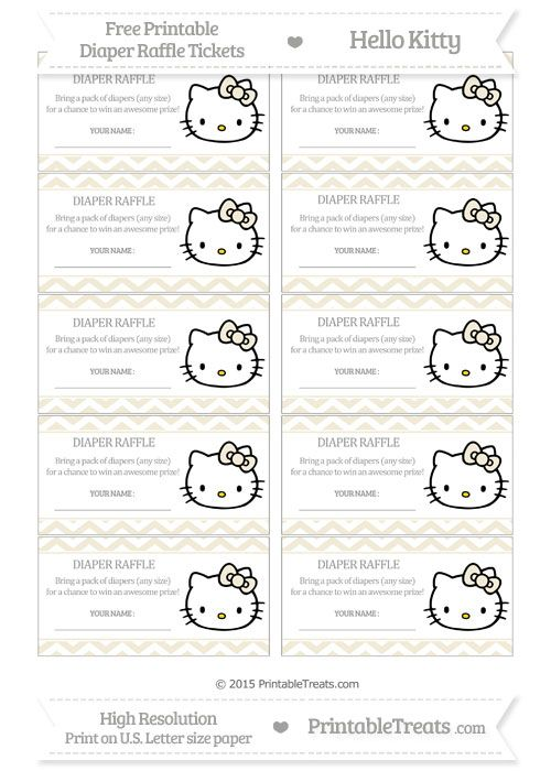 23 best Free printables images on Pinterest Baby shower - free printable raffle tickets template