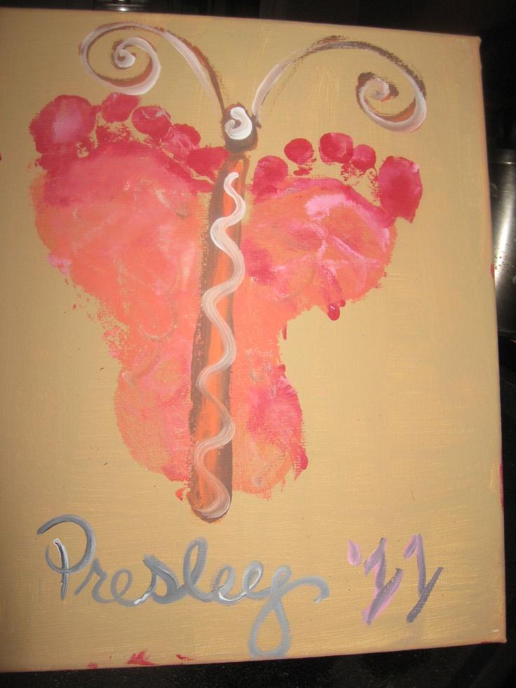Kids Feet butterfly: Kids Projects, Kids Stuff, Mothers Day Ideas, Kids Feet, Kids Ideas, Kids Crafts, Fav Kiddo