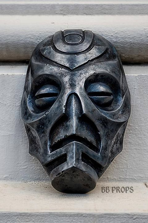 Skyrim Dragon Priest Mask Prop Replica - Nahkriin