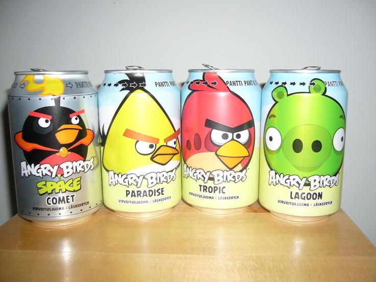 Angry Birds Soda Outsold Coke & Pepsi