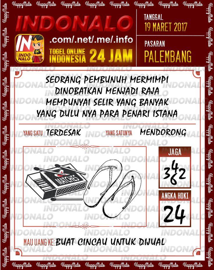 Angka Kuat 3D Togel Wap Online Indonalo Palembang 19 Maret 2017