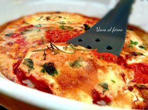 Uova al forno, appetitose, facili e veloci da preparare. Secondo piatto deliziosissimo, da preparare al forno, ricetta di Suor Germana