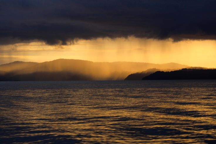 Dramatic sky at sunset over Golfo Dulce, Costa Rica. Be part of the dream at Golfo Dulce Retreat www.gdretreat.com