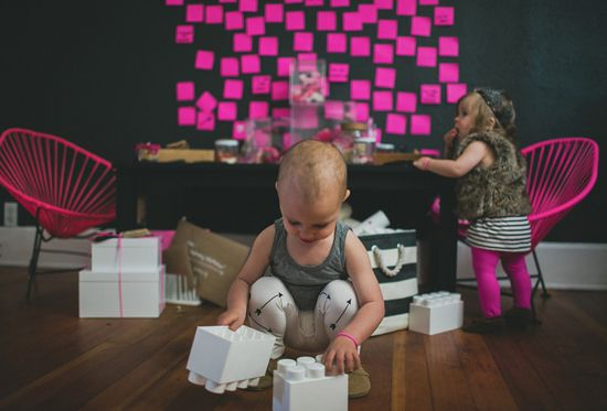 Kids hipster Valentine's Day ideas. Shot by Studio Castillero.