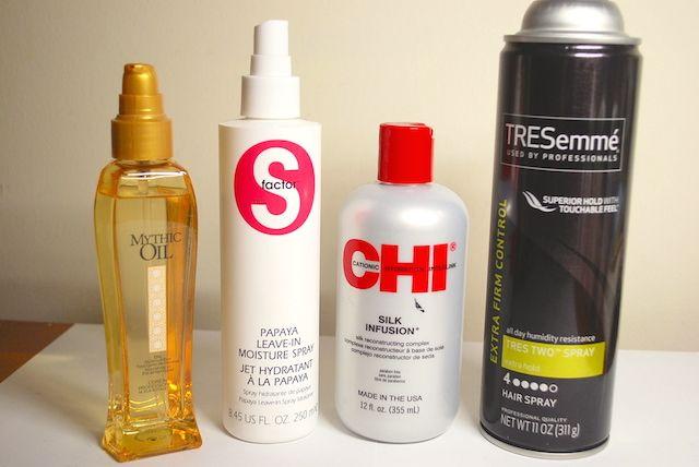女性がアメリカでリアルに必要なもの ヘアスタイリング編 Hairspray