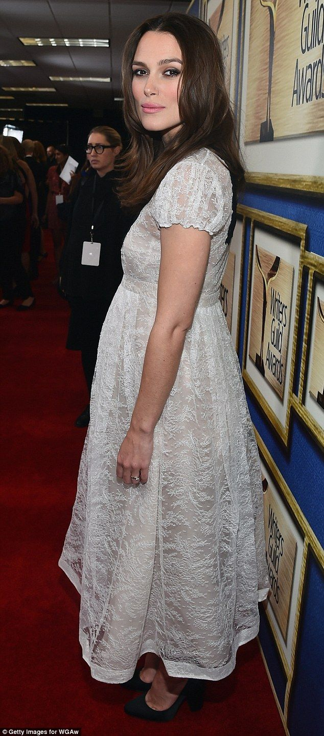 Keira Knightley - Writer's Guild Of America Awards in Los Angeles.  (February 2015)