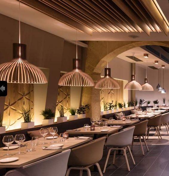 Restaurant design inspiration bycocoon hotel design for Hotel design provence