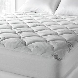 Shop for Soft Spa Luxe Cool Touch Tencel Blend Deep Pocket Mattress Pad. Get free shipping at Overstock.com - Your Online Mattress Pads