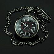 Menn Black Dial Mørk Alloy Quartz lommeur – NOK kr. 71