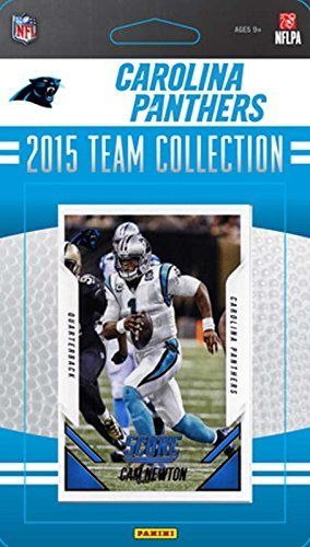 Carolina Panthers 2015 Score Factory Sealed NFL Football 13 Card Team Set Including Cam Newton and Shaq Thompson Rookie Plus