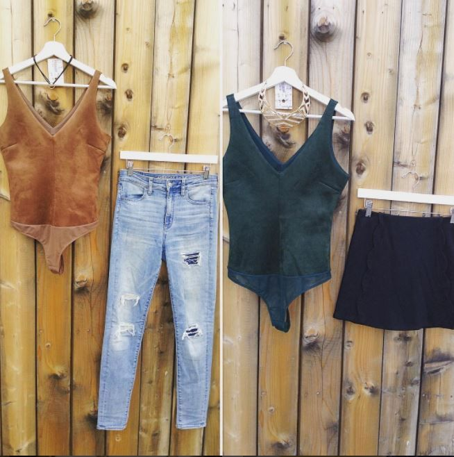 From day to night, bodysuits are a fall essential! Stop by Plato's Closet Kitchener today and check out our selection, we're open until 9pm 😄 Please call for all holds/inquiries ☎️ #gentlyused #iloveplatoskw #platosclosetkitchener #bodysuits #daytonight | www.platosclosetkitchener.com