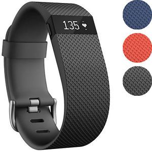 Buy Fitbit Charge HR Activity Heart Rate  Sleep Wristband (Small and Large)