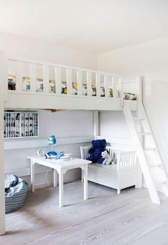 Utzon house - kids room  www.bobedre.dk