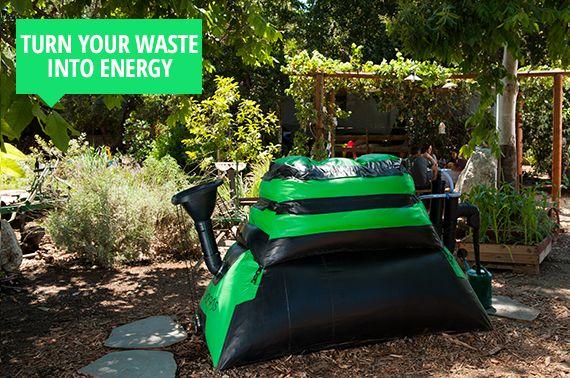 HomeBiogas 2.0 - biogáz termelés otthon