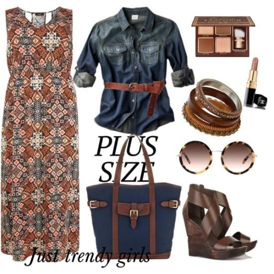 Plus size maxi dresses | Just Trendy Girls