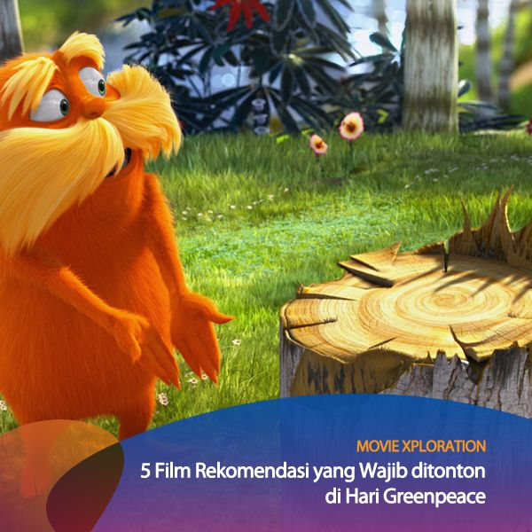 Yuk, tonton film-film yang menyampaikan isu lingkungan hidup ini di hari Greenpeace. Ada Michael Clayton, The Lorax, Children of Men, The Day After Tomorrow, dan Chinatown.   Di antara deretan film ini, mana yang jadi favorit kalian? #MovieXploration