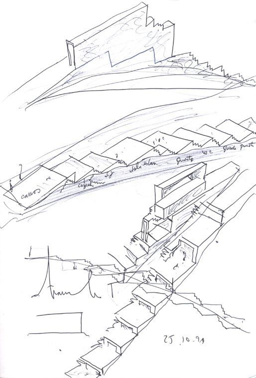 Flashback: Tolo House,sketch 01