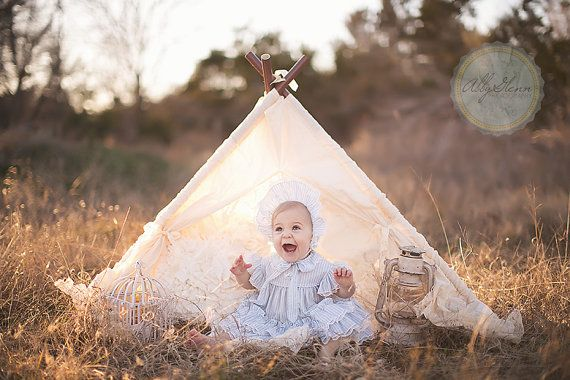 SOPHIE -- lace teepee play tent photo prop