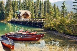 : Yoho National Park.  Kolumbia Brytyjska.  Kanada.  przez riczkho