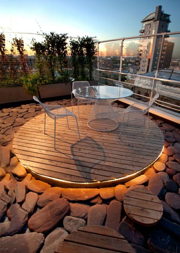 Dachterrasse Gestalten Umweltfreundliche Idee Terrassen Ideen ...
