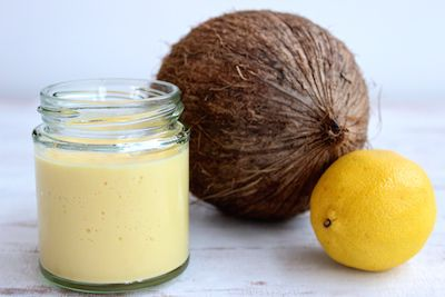 Lemon, Papaya and Coconut Curd - The Fit Foodie. No butter or sugar, and just 5 simple ingredients.