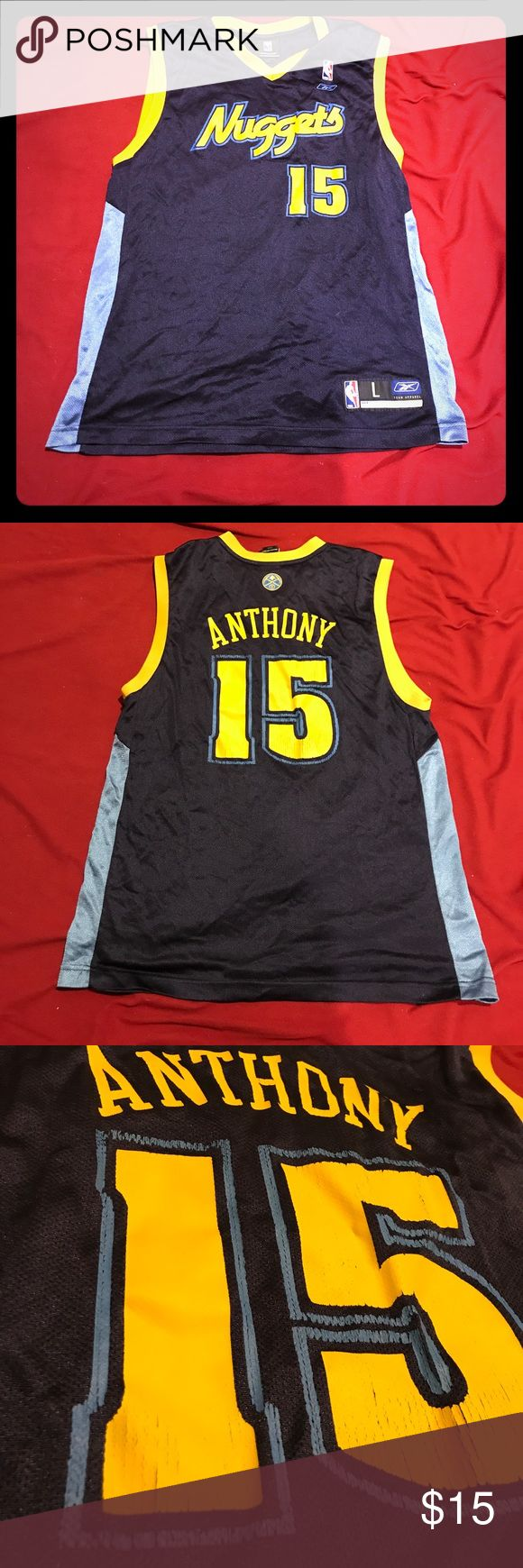 NBA Reebok Carmelo Anthony Jersey Good condition! Little beat. Still in great shape for its age😃 Reebok Other