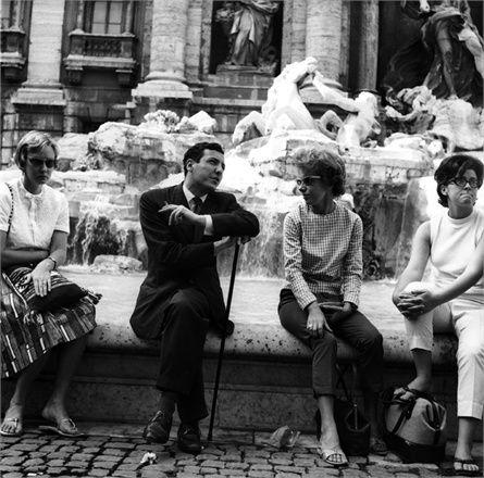 Trevi Fountain, Rome, 1960.