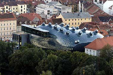 Kunsthaus, Graz, Austria