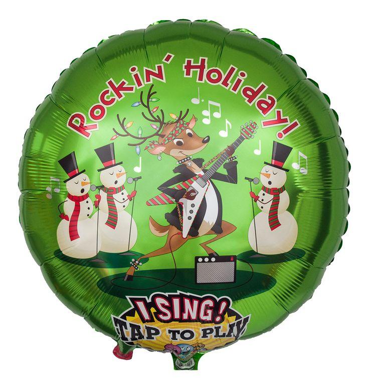 Einen Besonderen Blickfang Stellt Dieses Jahr Unser Cooler Musikballon Dar Darauf Sind Vier Frhlich Singende