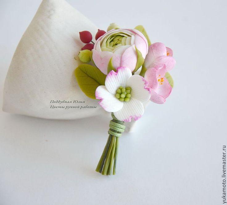 Где купить искусственные цветы для бутоньерки парфюмерная вода «цветы любви»30мл в подарочной упаковке заказать