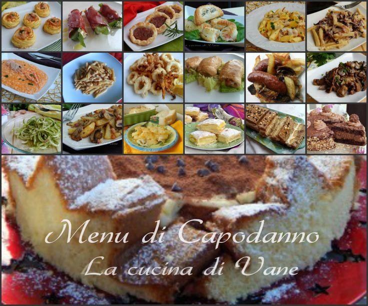 menu di capodanno dall'antipasto al dolce, ricette per un menu di pesce o di carne, con ricette sfiziose facili da fare. ricette per il cenone di capodanno