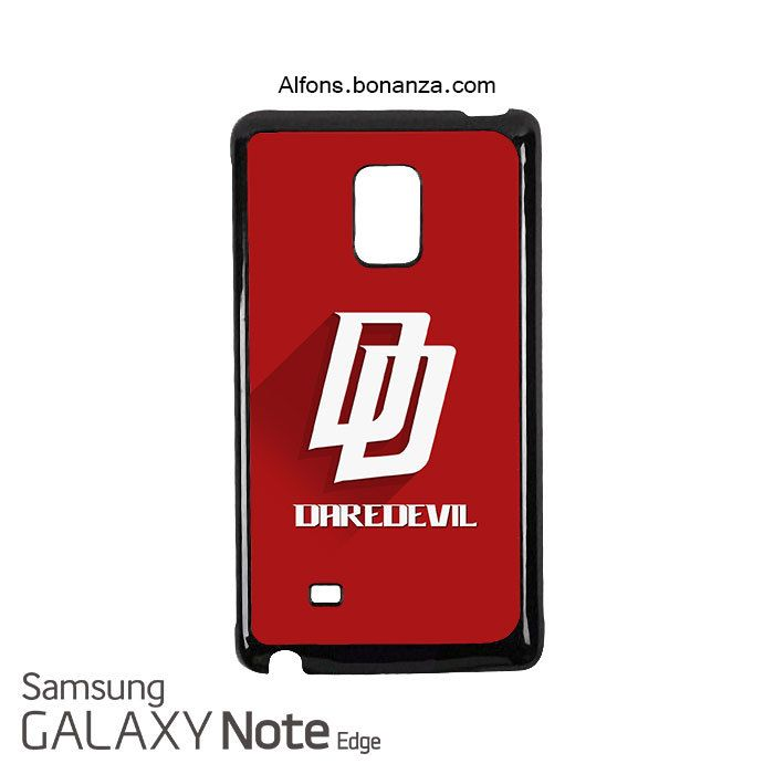 Daredevil Logo Superhero Samsung Galaxy Note EDGE Case