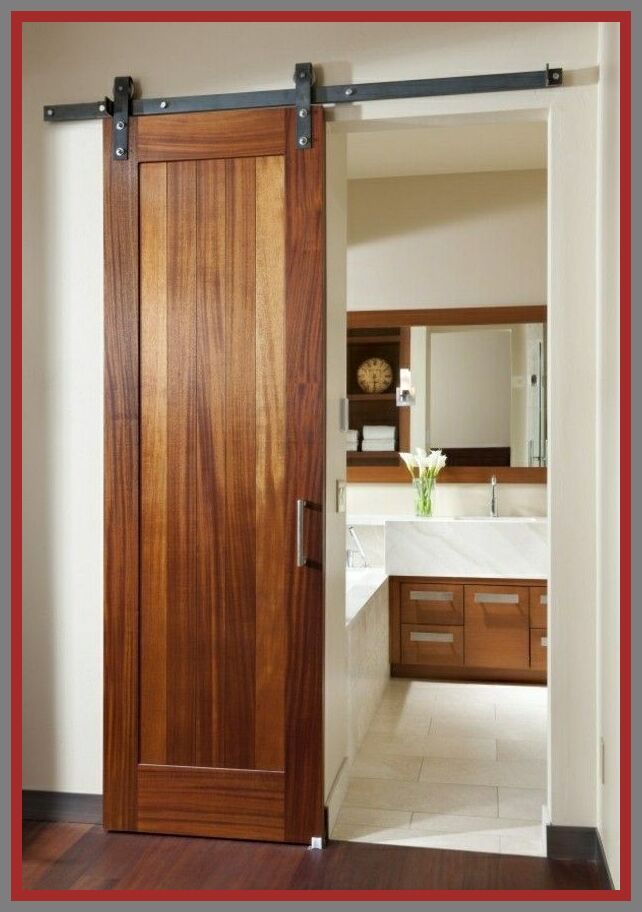 40 Reference Of Sliding Door Wooden Interior Doors In 2020 Bathroom Interior Design Small Bathroom Remodel Bathroom Remodel Master