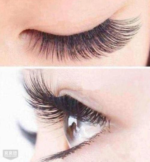 $3.99 Permanent 3D Real Mink Eyelash, Cross Thick Eyelashes Natural Long lash Hand Made false Lashes ,Siberian Mink Eyelash Extension