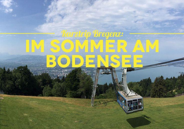 Kurztrip Bregenz: So verbringst du ein perfektes Wochenende am wunderschönen Bodensee