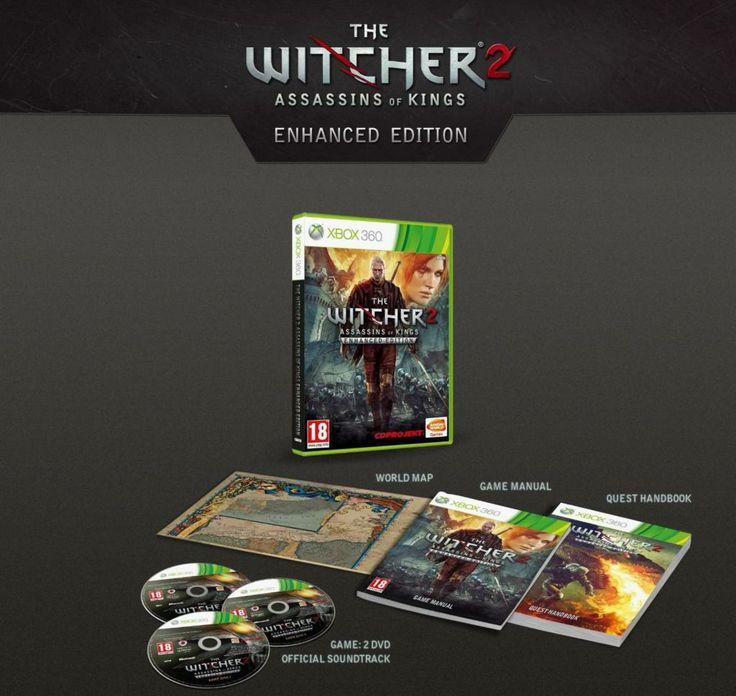 the witcher 2 enhanced edition - XBOX 360 - Référence Gaming - Le Marketplace du jeu vidéo #XBOX360 #thewitcher2