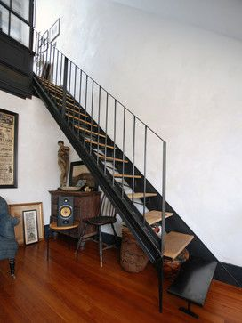Beautiful Serett Fabricated And Installed This Custom Staircase And Factory Windows  Partition For A For A Private